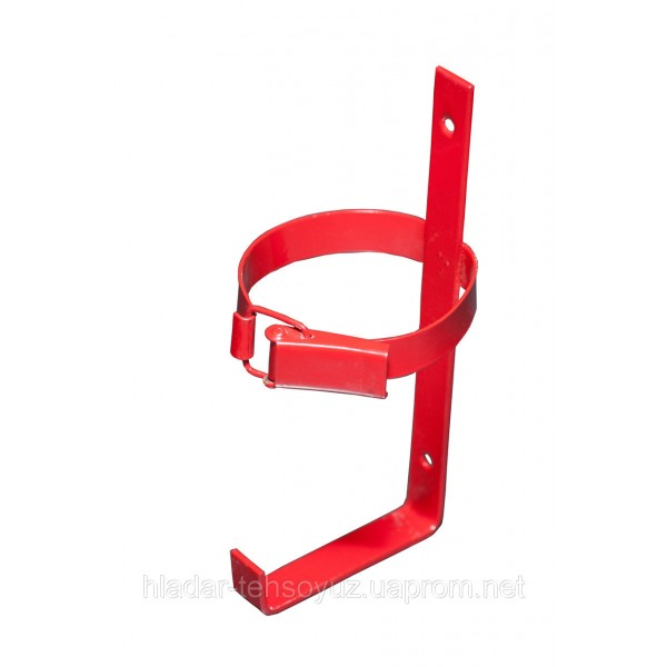 Mounting bracket for powder fire extinguisher 2 kg
