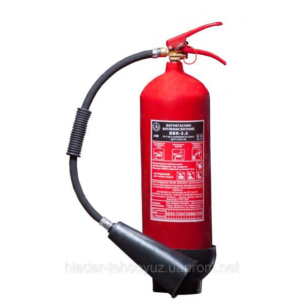Огнетушитель углекислотный ВВК-3.5 (ОУ-5)